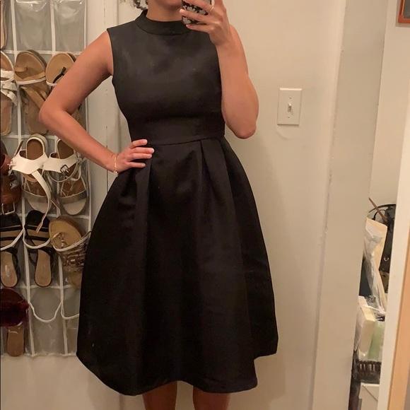 Boohoo Dresses & Skirts - Black A-line mock neck dress